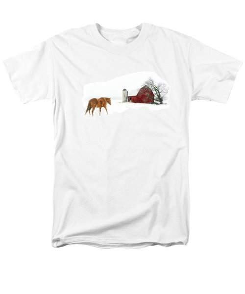 Men's T-Shirt  (Regular Fit) featuring the photograph Going Home by Ann Lauwers