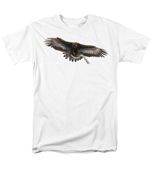 Men's T-Shirt  (Regular Fit) featuring the painting Golden Landing by Pat Erickson
