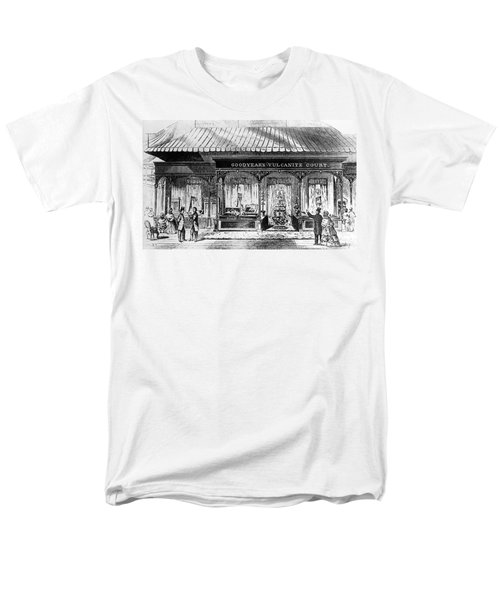 Goodyear Rubber Exhibit Men's T-Shirt  (Regular Fit) by Underwood Archives