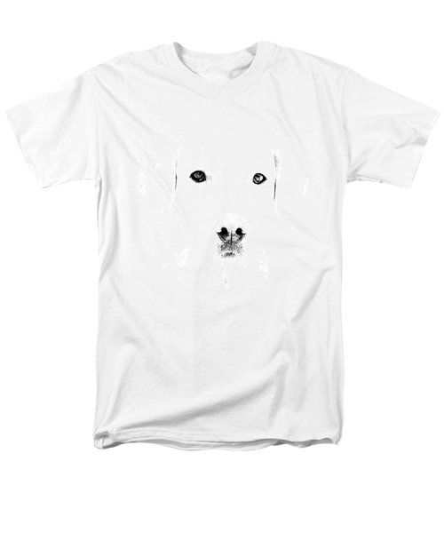 Dog Face Men's T-Shirt  (Regular Fit) by Mike Santis