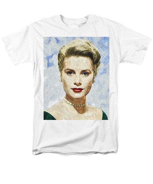 Grace Kelly Men's T-Shirt  (Regular Fit) by Taylan Apukovska