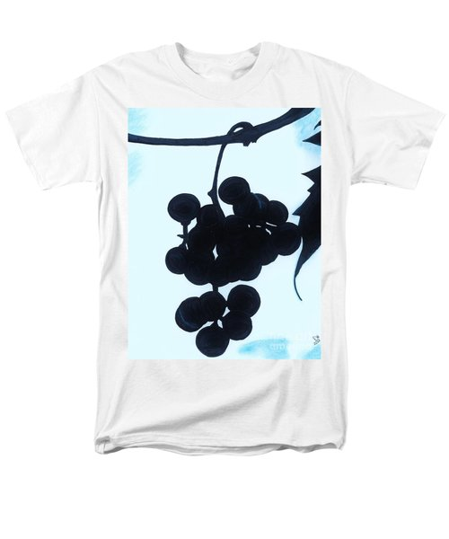 Men's T-Shirt  (Regular Fit) featuring the drawing Grapes by D Hackett