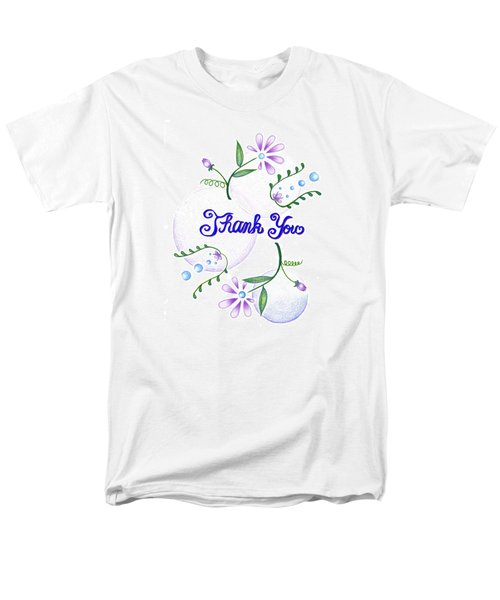 Gratitude Men's T-Shirt  (Regular Fit) by Keiko Katsuta