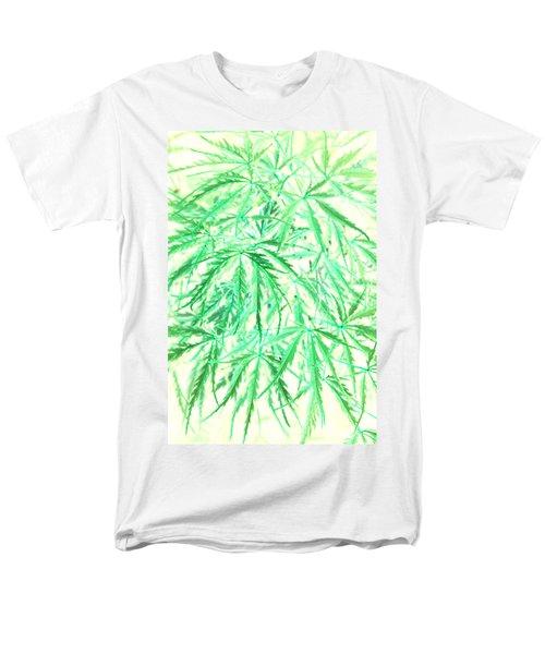 Men's T-Shirt  (Regular Fit) featuring the photograph Green Splender by Jamie Lynn