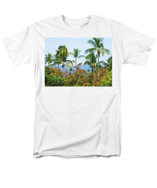 Grow Your Own Way Men's T-Shirt  (Regular Fit) by Denise Bird