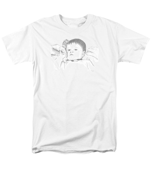 Men's T-Shirt  (Regular Fit) featuring the drawing Guiding Hands by Patricia Hiltz