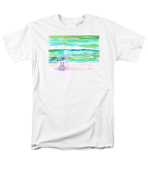 Gull Men's T-Shirt  (Regular Fit) by Anne Marie Brown