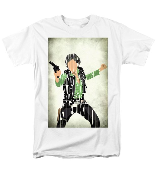 Han Solo From Star Wars Men's T-Shirt  (Regular Fit) by Ayse Deniz
