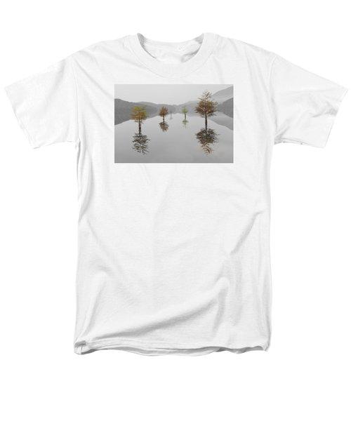 Hanging Garden Men's T-Shirt  (Regular Fit) by Debra and Dave Vanderlaan