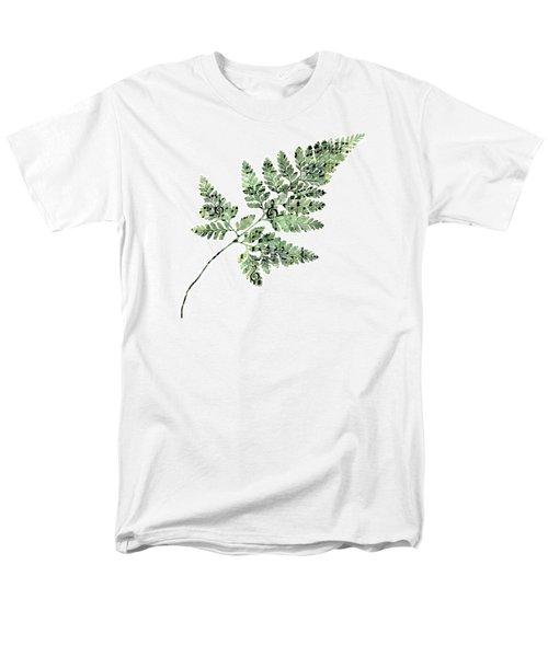Happy Adventure Music Fern Men's T-Shirt  (Regular Fit) by Sandra Foster