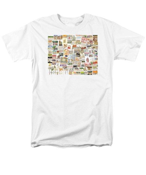 Harlem Collage Of Old And New Men's T-Shirt  (Regular Fit) by AFineLyne