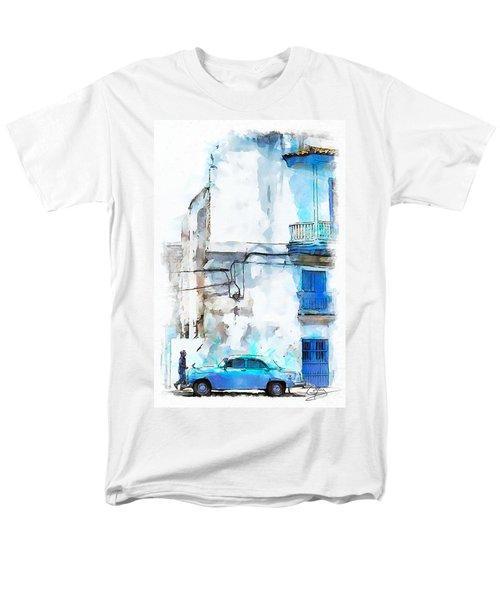 Havana Street Men's T-Shirt  (Regular Fit) by Greg Collins