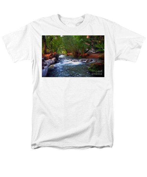 Havasu Creek Men's T-Shirt  (Regular Fit) by Kathy McClure