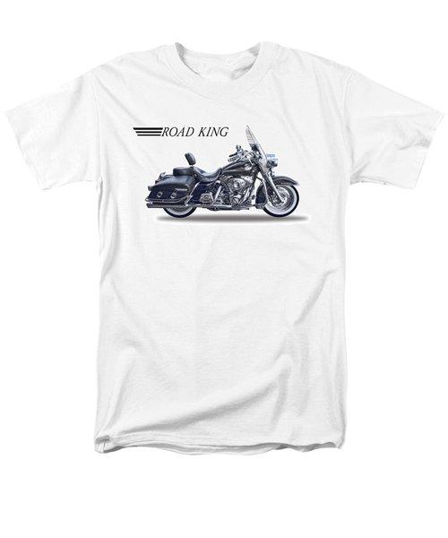 H D Road King Men's T-Shirt  (Regular Fit) by Daniel Hagerman