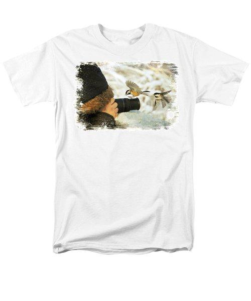 He Has Food I Know It Men's T-Shirt  (Regular Fit) by Davandra Cribbie