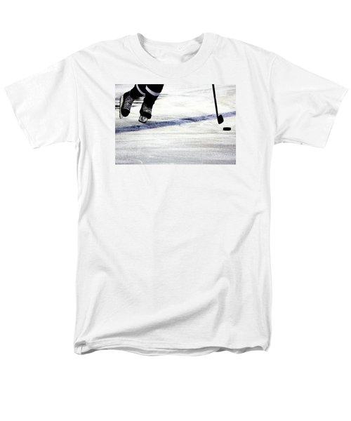 He Skates Men's T-Shirt  (Regular Fit) by Karol Livote
