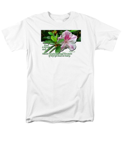 Men's T-Shirt  (Regular Fit) featuring the photograph Hear And Receive by Larry Bishop