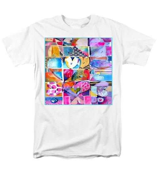 Heart Throbs Men's T-Shirt  (Regular Fit) by Mindy Newman