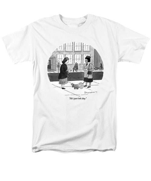 He's Part Bok Choy Men's T-Shirt  (Regular Fit) by Danny Shanahan