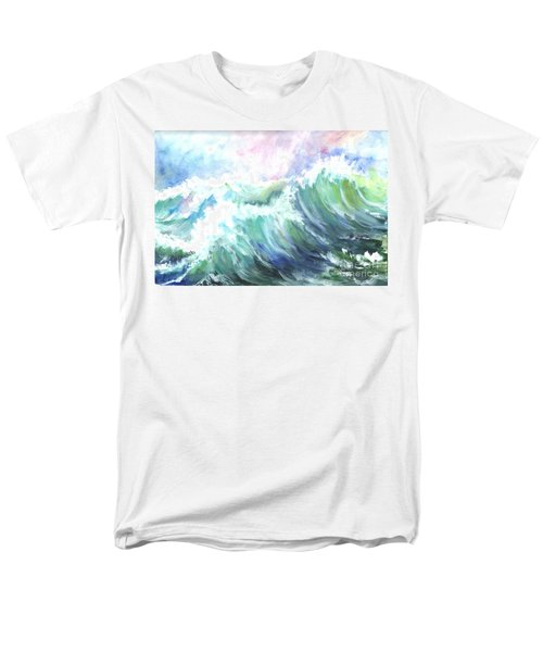Men's T-Shirt  (Regular Fit) featuring the painting High Seas by Carol Wisniewski