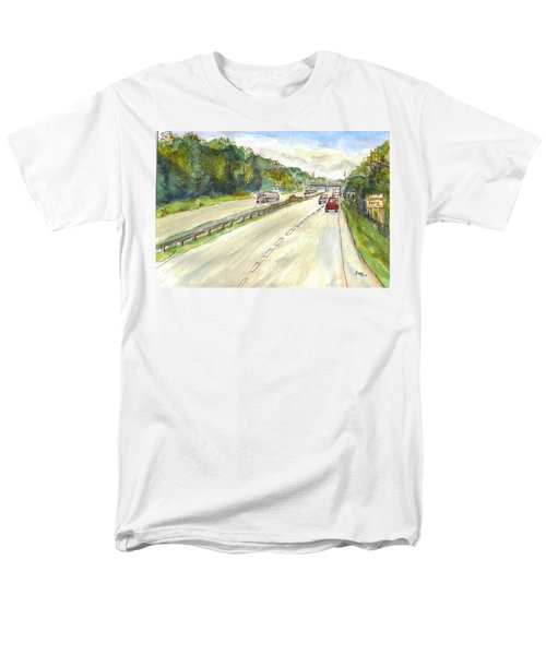 Highway 95 Men's T-Shirt  (Regular Fit)