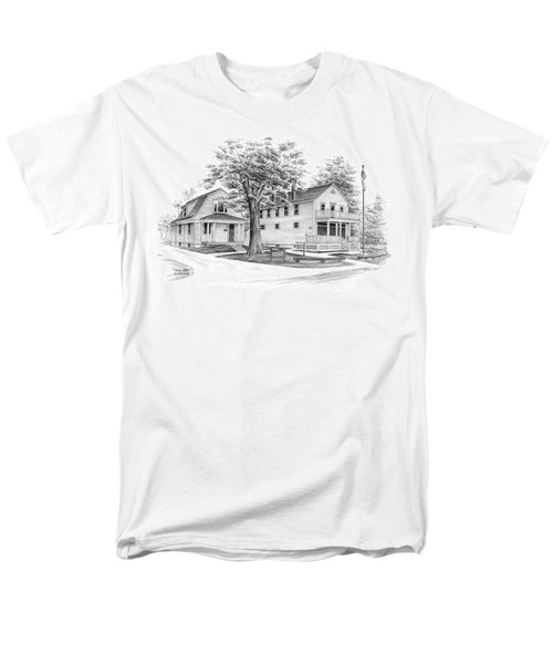Historic Jaite Mill - Cuyahoga Valley National Park Men's T-Shirt  (Regular Fit) by Kelli Swan
