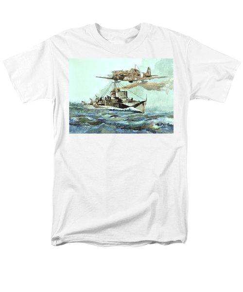 Hms Ledbury Men's T-Shirt  (Regular Fit) by Ray Agius