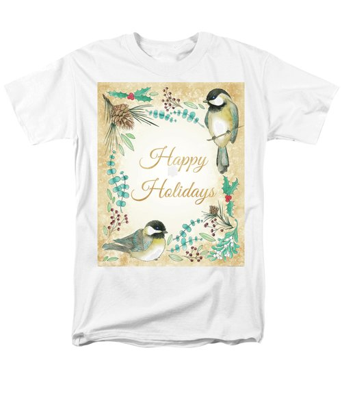 Holiday Wishes II Men's T-Shirt  (Regular Fit) by Elyse Deneige