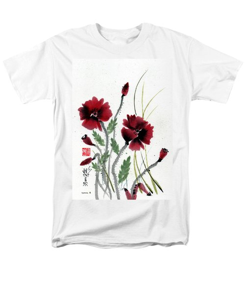 Men's T-Shirt  (Regular Fit) featuring the painting Honor by Bill Searle