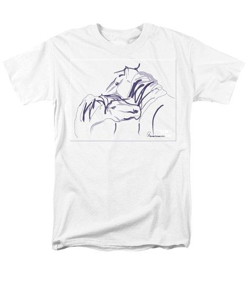 Horse - Together 10 Men's T-Shirt  (Regular Fit) by Go Van Kampen