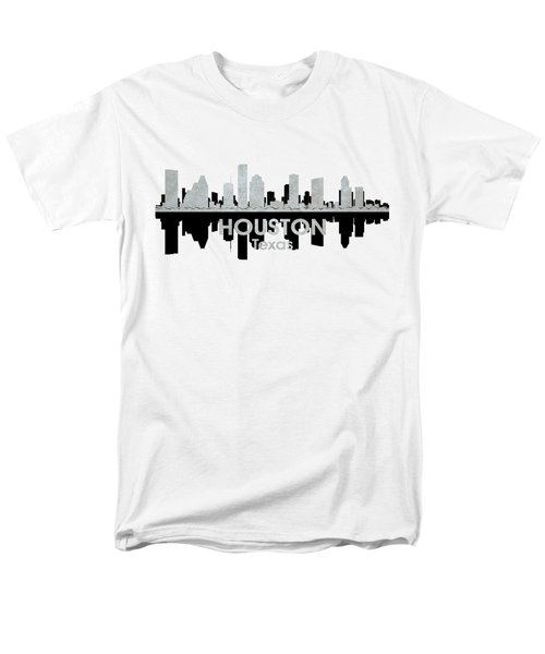 Houston Tx 4 Men's T-Shirt  (Regular Fit) by Angelina Vick