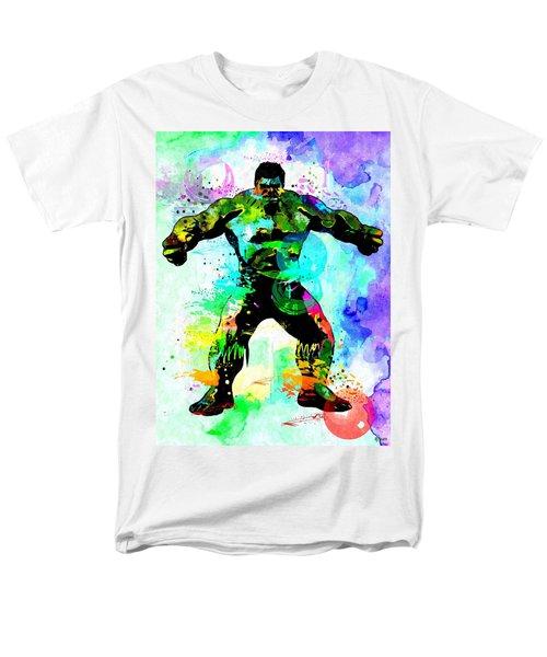Hulk Watercolor Men's T-Shirt  (Regular Fit) by Daniel Janda