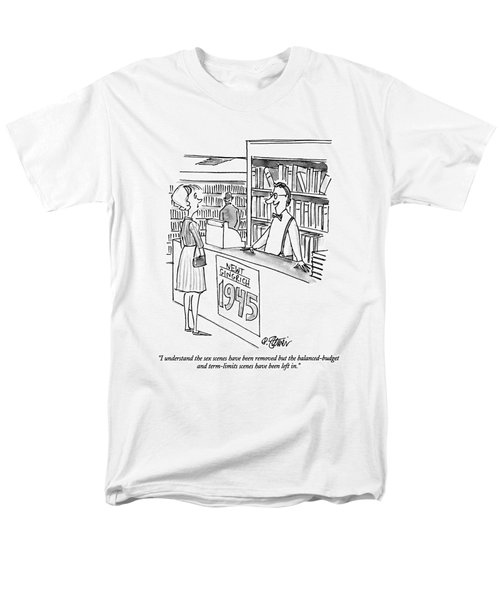 I Understand The Sex Scenes Have Been Removed But Men's T-Shirt  (Regular Fit) by Peter Steiner