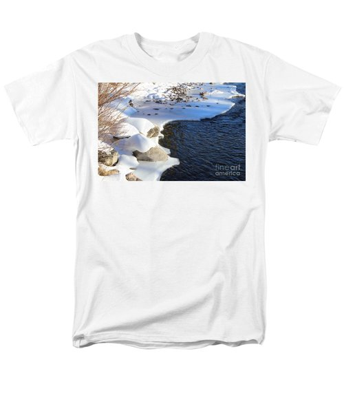 Ice Cold Water Men's T-Shirt  (Regular Fit) by Fiona Kennard