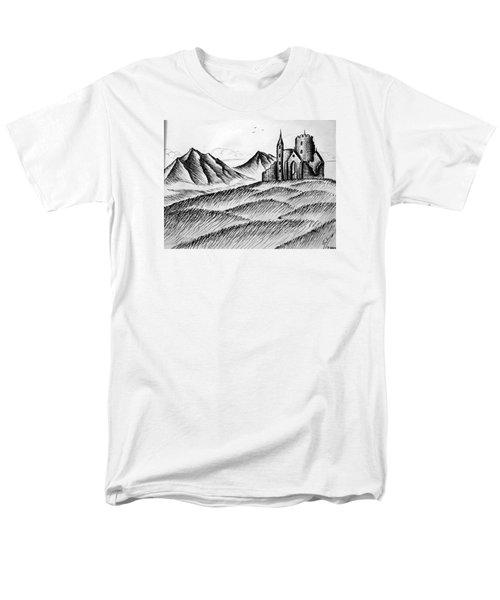 Men's T-Shirt  (Regular Fit) featuring the painting Imagination by Salman Ravish