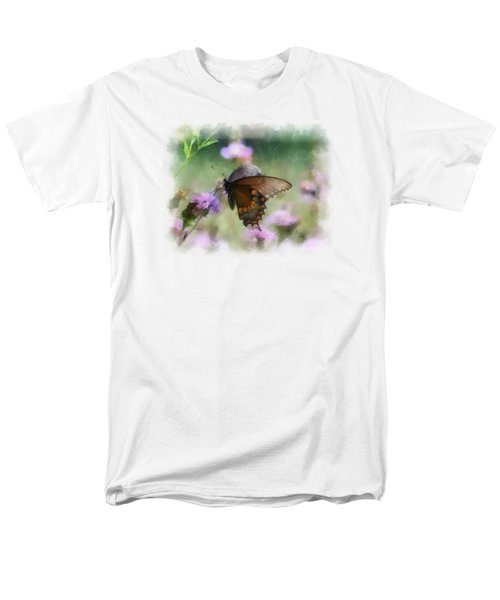 Men's T-Shirt  (Regular Fit) featuring the photograph In The Flowers by Kerri Farley