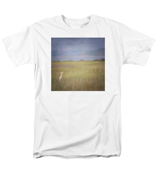 Men's T-Shirt  (Regular Fit) featuring the photograph In The Marsh  by Kerri Farley