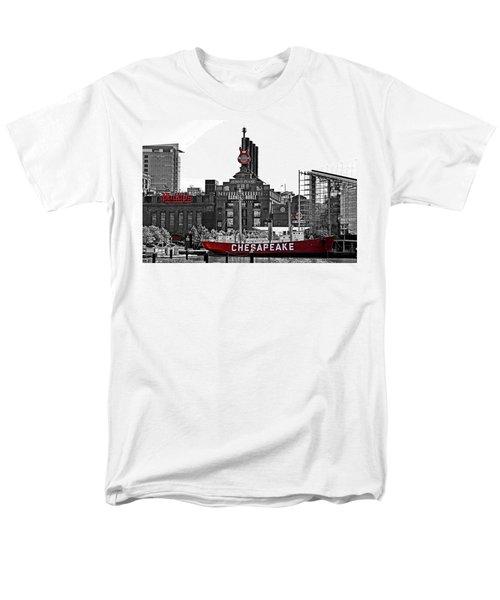 Inner Harbor Men's T-Shirt  (Regular Fit) by DJ Florek