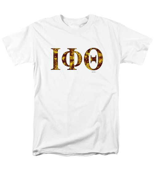 Iota Phi Theta - White Men's T-Shirt  (Regular Fit) by Stephen Younts