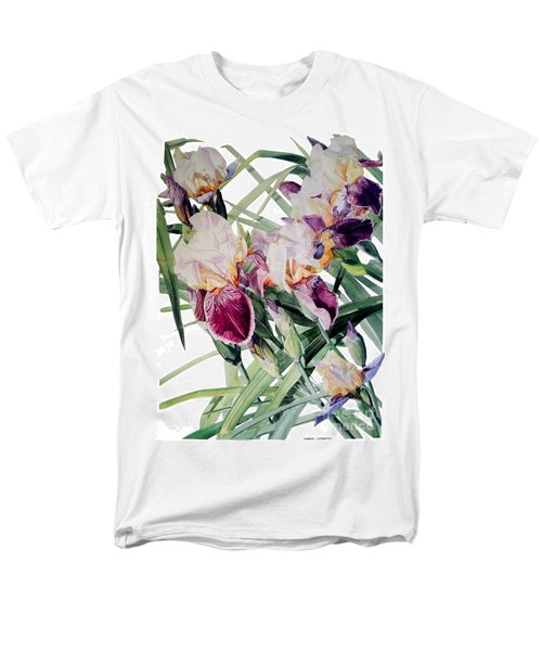Iris Vivaldi Spring Men's T-Shirt  (Regular Fit) by Greta Corens
