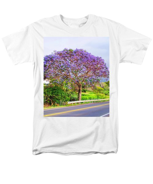 Jacaranda 4 Men's T-Shirt  (Regular Fit) by Dawn Eshelman