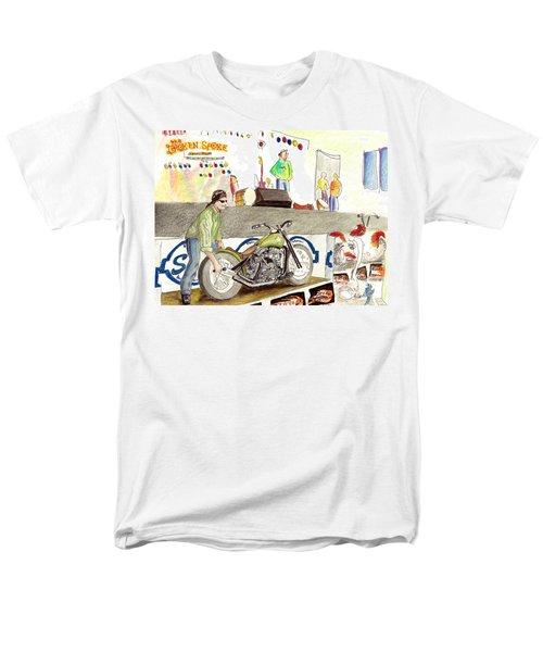 Jay Allen At The Broken Spoke Saloon Men's T-Shirt  (Regular Fit) by Albert Puskaric