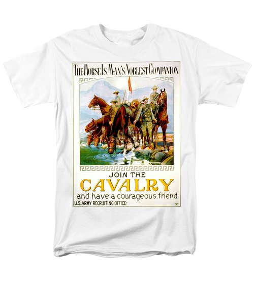 Join The Cavalry 1920 Men's T-Shirt  (Regular Fit) by Padre Art