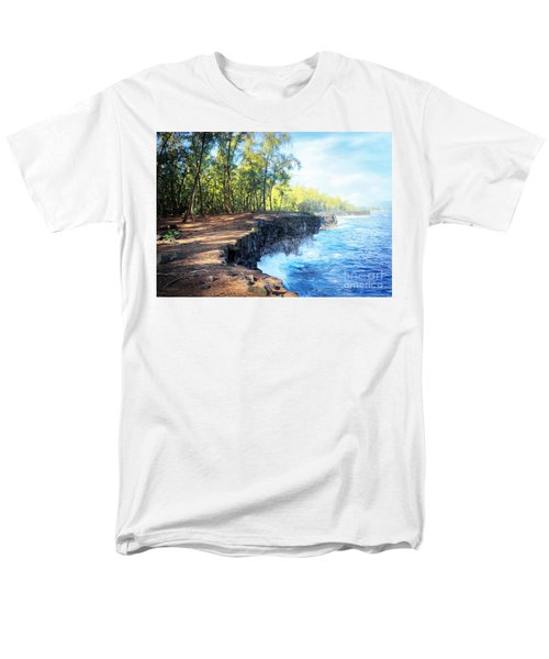 Kaloli Point Hawaii Men's T-Shirt  (Regular Fit) by Ellen Cotton