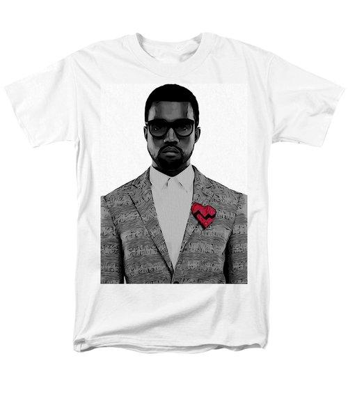 Kanye West  Men's T-Shirt  (Regular Fit) by Dan Sproul