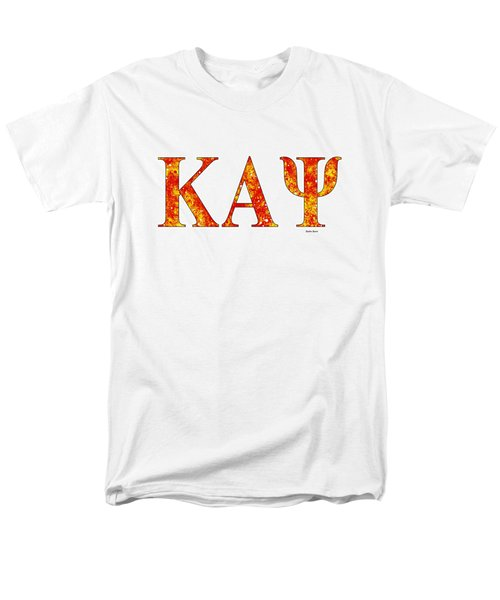 Kappa Alpha Psi - White Men's T-Shirt  (Regular Fit) by Stephen Younts