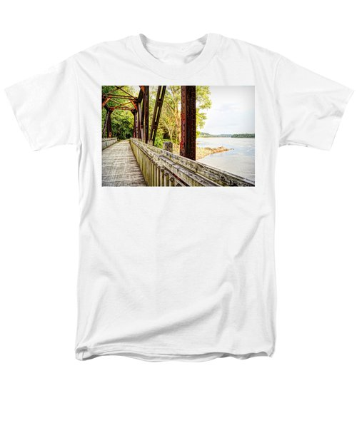 Katy Trail Near Coopers Landing Men's T-Shirt  (Regular Fit) by Cricket Hackmann