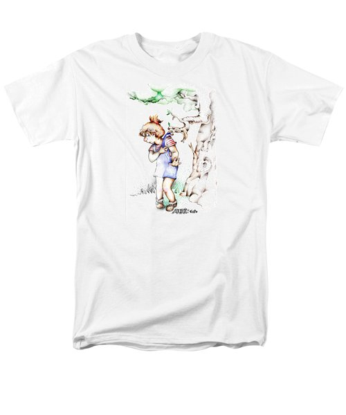 Trail Blazing Edition Kidnabbed 2 Foto Men's T-Shirt  (Regular Fit) by Dawn Sperry