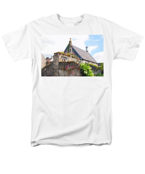 Men's T-Shirt  (Regular Fit) featuring the photograph Kilkenny House by Mary Carol Story