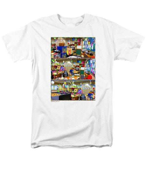 Kindergarten Classroom Men's T-Shirt  (Regular Fit) by Tina M Wenger